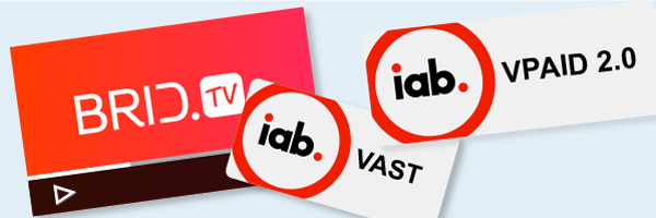 VAST and VPAID support: All Video Ad Formats For Your Videos Via BridTv