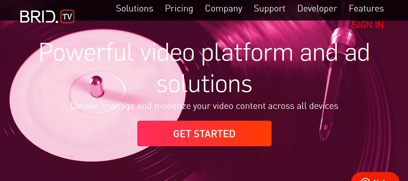 BridTV video player YouTube Monetization Alternative
