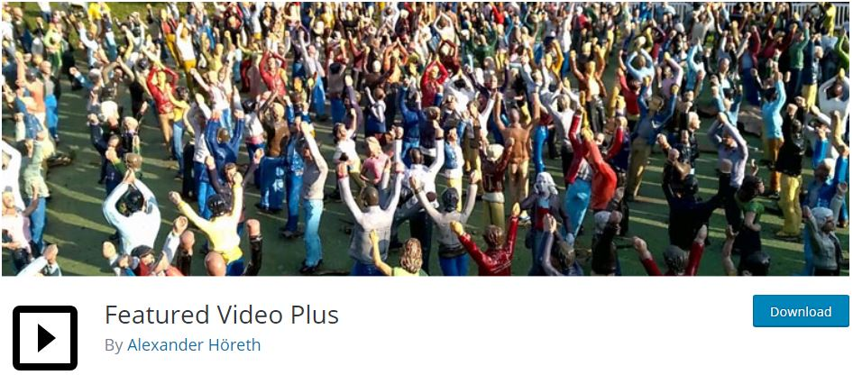 Featured Video Plus WordPress Plugin