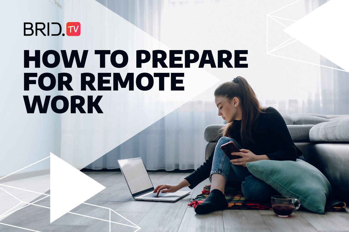 how to prepare for remote work