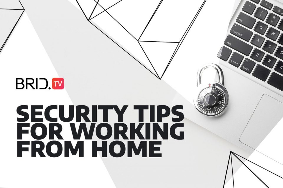 security tips for working from home