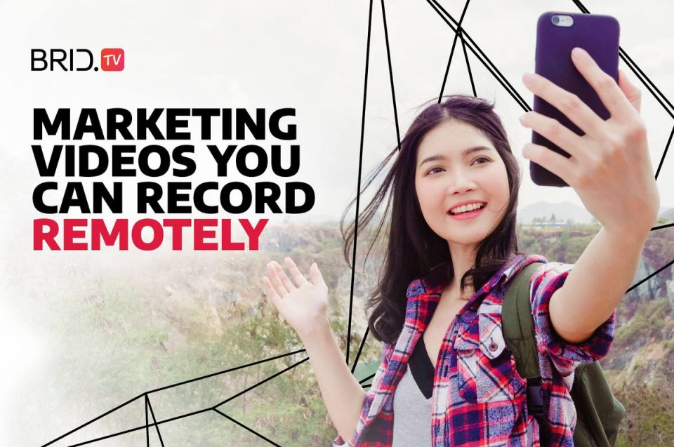 marketing videos you can record remotely